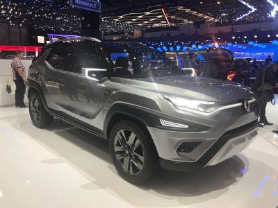 SsangYong XAVL concept unveiled