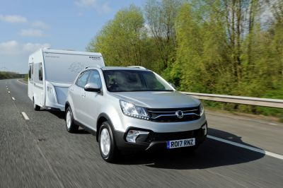 SsangYong Korando 'Pulls Away' With Tow Car Of The Year Award