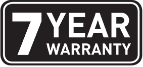 7 Year Warranty at Frasers!