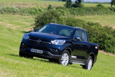Tip-Top - Five New Hard Tops Introduced For The SsangYong Mussp Pick-Up
