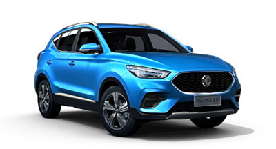 Mg New Zs - Available In Battersea Blue