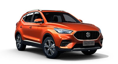 Mg New Zs - Available In Hoxton Orange