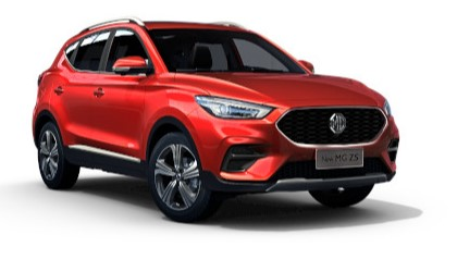 Mg Zs - Available In Dynamic Red