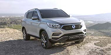 New SsangYong Rexton from £28,995